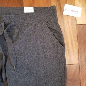 Xersion Pants - Heathered Charcoal Gray Joggers Lounge Pants
